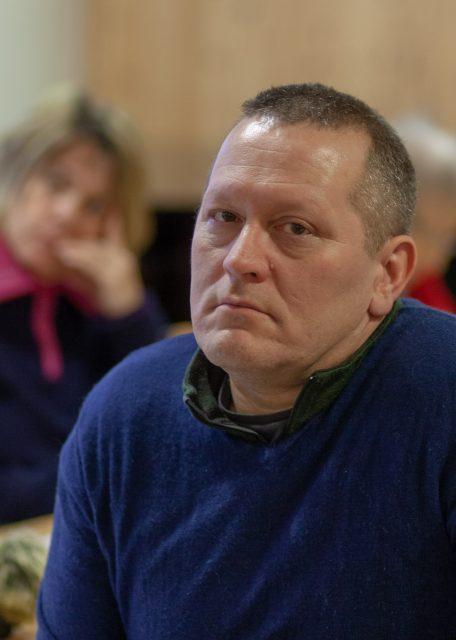 Tor Mikkola Film av menighetsmøtet