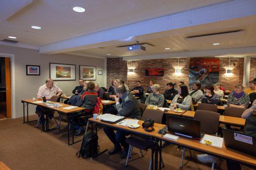 Bra frammøte på årsmøtet til Nordkapp Senterparti